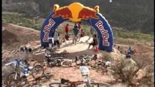 bmx mountain biking- red bull rampage