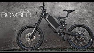 Stealth Bomber Electric Bike - Sweden 72V 18Ah LiFePO4 65A