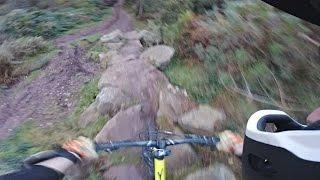 GoPro Hero 5 Session Test - EIS, Low Light, Voice control + MTB fail