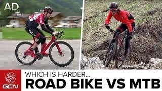 Road Bike Vs Mountain Bike: Which Is Harder?