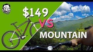 $149 Mountain Bike vs mountain - The Walmart Enduro