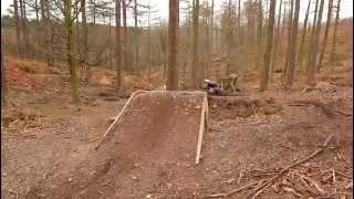 The Best Cannock Chase Downhill Mountain Bike Video Edit Stile Cop Jumps Drops Berms ETC