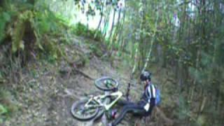 Cannock chase mountain biking crashes