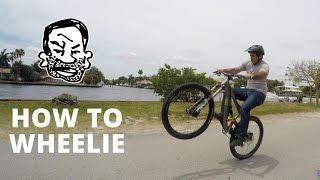 How to wheelie a Mountain Bike