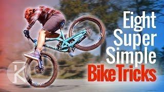 8 Cool Mountain Bike tricks you can learn anywhere!