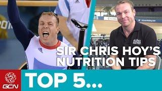 Top 5 Pro Cycling Nutrition Tips With Sir Chris Hoy