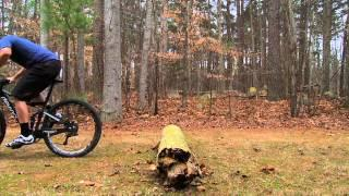How to Jump a Log on a Mountain Bike