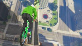 INSANE BMX WALLRIDES!(GTA 5 Funny Moments)