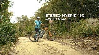 CUBE Stereo Hybrid 160 Action Team 500