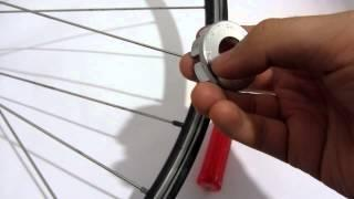 Basic Bicycle Wheel Straightening Truing Methods & Tools