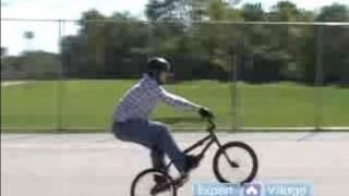 BMX Bike Tricks & Jumps : How to Manual : BMX Tricks