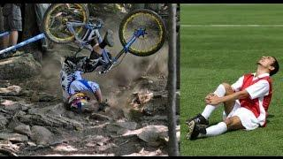 Mountain Bike vs Football