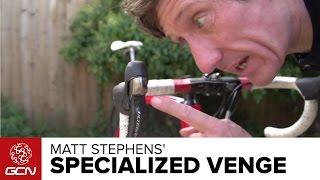 Presenters' Bikes – Matt Stephens' Specialized Venge