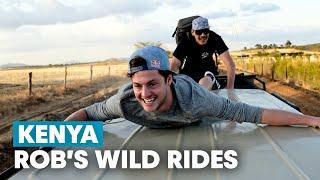 Exploring The Wilderness of Kenya on MTB   Rob Warner's Wild Rides w/ Matt Jones