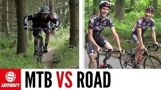 Is Mountain Biking Harder Than Road Cycling? GMBN Vs. GCN