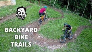 Backyard MTB Trails | Building & Riding!