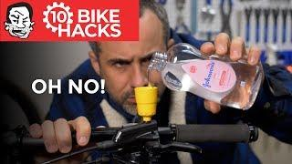 10 Bike Hacks for Mountain Bikers and Beyond