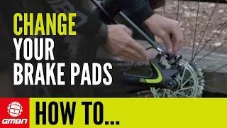 How To Change Mountain Bike Disc Brake Pads | Trailside Maintenance