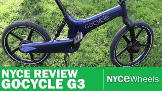 GoCycle G3 - High Tech Electric Bike Review