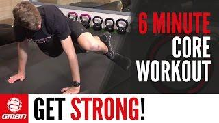Core Strength Workout: 6 Minute Core Training For Mountain Biking