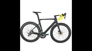 2020 Newest Disc aero frame all inner cable complete bike with SHIMANO R8020 groupset