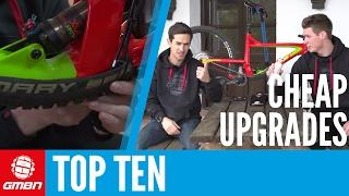 Top Ten Cheap Or Free MTB Upgrades