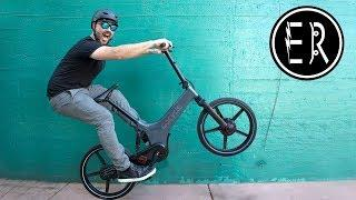 The ULTIMATE urban electric bike!!! Gocycle GS Review, Ride