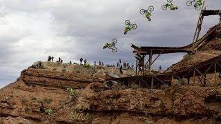 Biggest mountain bike backflip in history