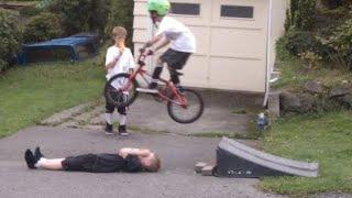 Insane BMX Fails!!! Funny edition!!