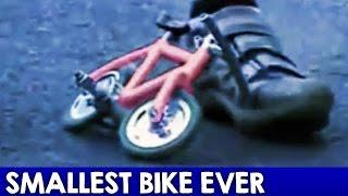 Guinness World Record Smallest Bicycle (World's Smallest BMX Ever)