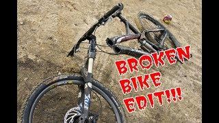 MTB fail compilation 2017 Broken Bike edit:)