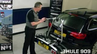 Thule bike rack / cycle carrier review.