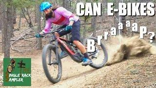 CAN E-BIKES BRAP? MTB test ride Specialized Levo and Trek Powerfly 8 E-bikes | Singletrack Sampler