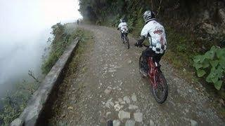 The Death Road, Downhill Mountain Bike Ride - Bolivia