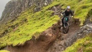 MTB #DannyMacaskill riding in beautiful whather #scotland