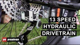 Rotor's 13-Speed Hydraulic MTB Drivetrain | Sea Otter 2019