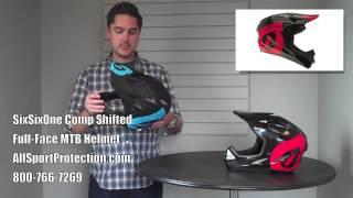 SixSixOne Comp Full-Face Helmet for Downhill Mountain Biking and BMX