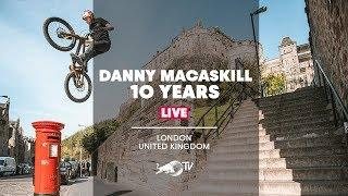 10 Years of Danny MacAskill | LIVE with Rob Warner