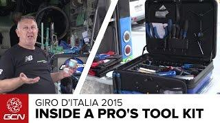 What's In A Pro Cycling Team Mechanic's Toolbox? | Giro D'Italia 2015