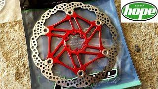 Hope Tech Floating Disc Rotors Unboxing and Quick Check - Bike Upgrades