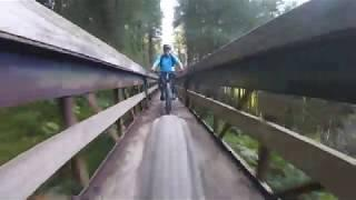 Llandegla Forest MTB Red Trail Highlights 2019