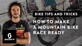 How to Make an MTB Race Ready! with Yanick the Mechanic