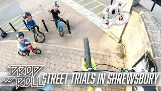 Street Riding in England with Danny Macaskill, Robbie Meade and Rory Semple!