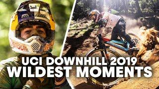 Best Saves & Bails of A Wild 2019 Downhill Season | UCI Mountain Bike World Cup