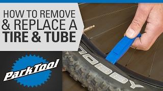 How to Remove and Install a Bicycle Tire & Tube