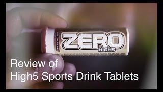 A Review Of The High5 Sports Drink Tablets