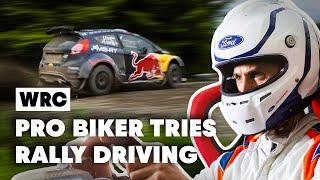 Is MTB Pro Rider Gee Atherton Faster In A Rally Car After An Ice-Cold Bath?