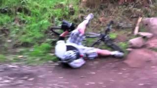 Monkey Trail Crash, Cannock Chase
