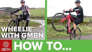 How To Wheelie A Road Bike – Can GMBN Wheelie On A Road Bike?!