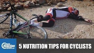 5 Nutrition tips for cyclists